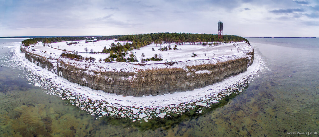 Panoraam talvisest Panga pangast