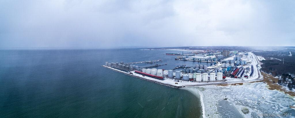 Panoraam Muuga sadamast