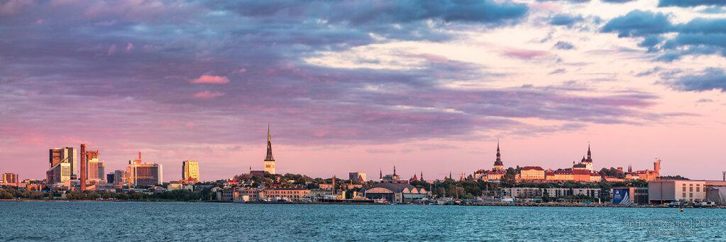 Tallinna panoraam Katariina kailt